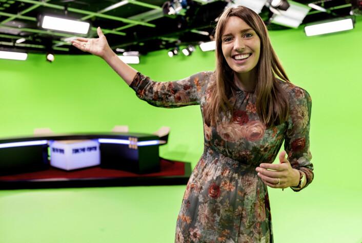 Susanne Wergeland er en av programlederne i Discovery og TV Norge som jobber med Tokyo-OL fra TV-studioet i Nydalen.
