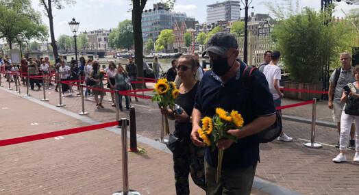 Nederland tok farvel med drept journalist