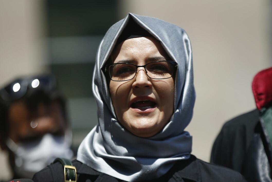 Spionprogrammet Pegasus fra israelske NSO Group er funnet på telefonen til Hatice Cengiz, forloveden til Jamal Khashoggi.