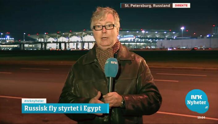 Jan Espen Kruse rapporterer om tragisk flyulykke i 2015.