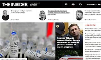 Nettavisen The Insider lagt til liste over «utenlandske agenter» i Russland