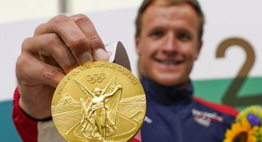 165.000 nordmenn så Norge ta OL-gull