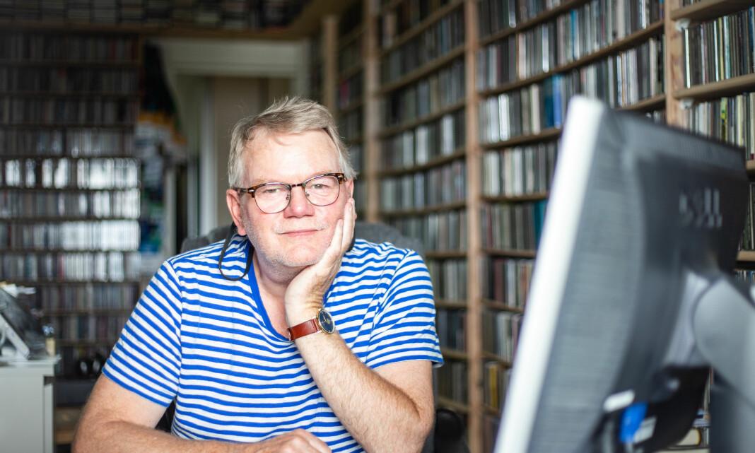Tor Hammerø løfter frem det han mener er tidløs musikk i radioprogrammet Tor de Jazz. – Kvalitetsmusikk får altfor lite oppmerksomhet i pressen