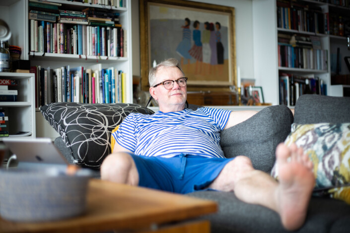 Hammerø følger med på OL. Han er like interessert i sport som i musikk og litteratur. – En strålende fotballkamp, gjerne med Molde i praktslag, og en heftig jazzkonsert har mye til felles - det kollektive samspillet, de individuelle ferdighetene og så det uforutsigbare - det magiske, sier han.