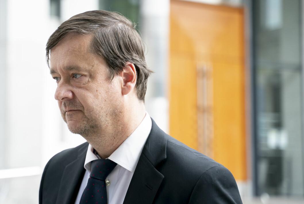 John Christian Elden er forsvarer for den tiltalte mannen i 60-årene.