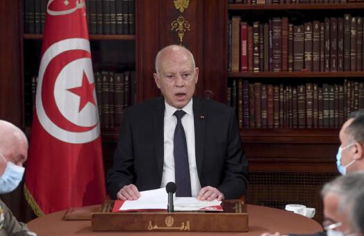 Tunisias president sparket TV-sjef