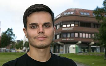 Han er født i Russland, men nå er Roman Prokopenko ansatt som journalist på den norske siden av grensen