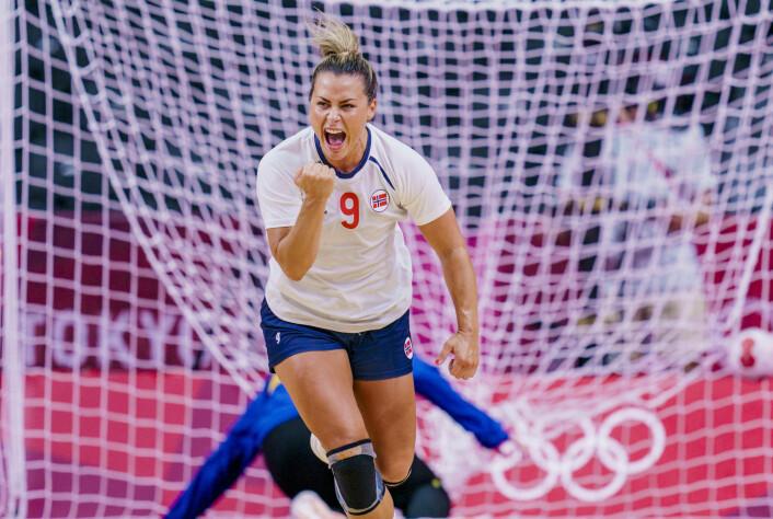 Nora Mørk og de norske håndballkvinnene lekte seg med Montenegro torsdag.