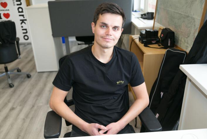 Roman Prokopenko har planer om å bli værende en stund: – Det handler om å bygge opp et nettverk, få kontakter, bli kjent med stedet rett og slett.