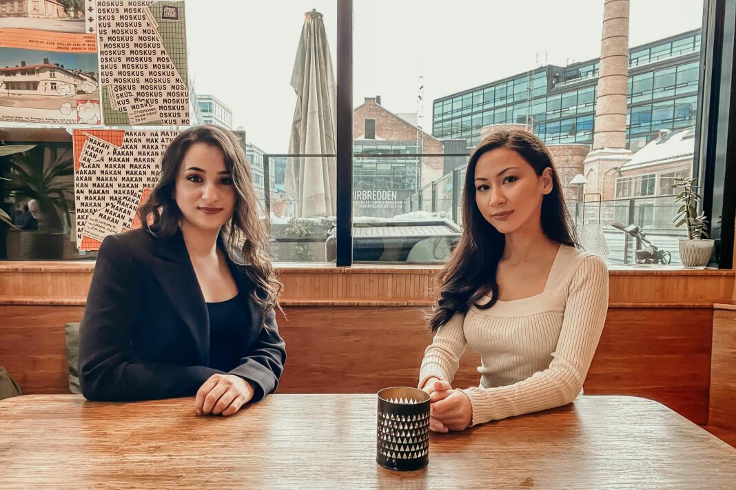 Balsharan Kaur og Zainab Moubarez møttes til en kopp kaffe. Det ble starten på magasinet Perspektiv.