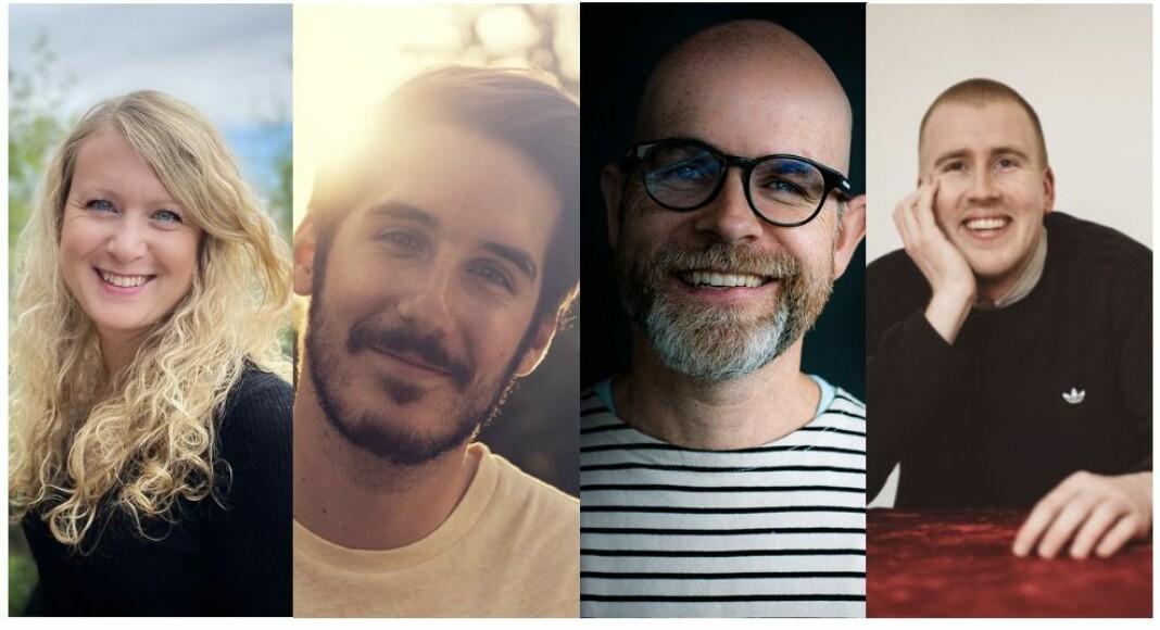 Aftenposten ansetter Hanne Marie Maugesten, David Vekony, Kjetil Bjørgan og Peter Daatland.