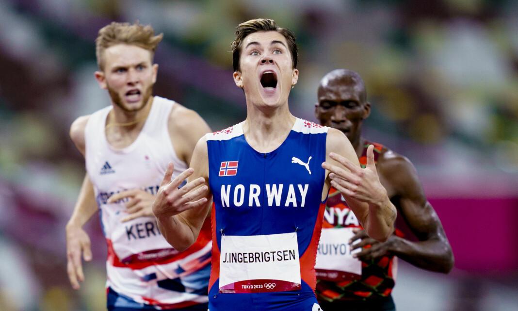 587.000 nordmenn så Jakob Ingebrigtsen bli olympisk mester