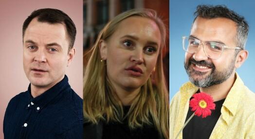 NRK tester nytt konsept: Setter opp direktesendt debatt med komikere