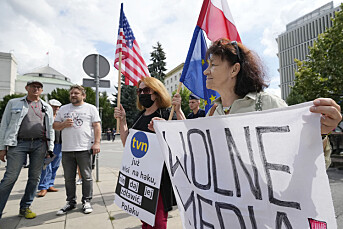 Polens nasjonalforsamling vedtok omstridt medielov
