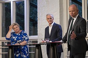 Bråk om to mot én i statsministerdebatt