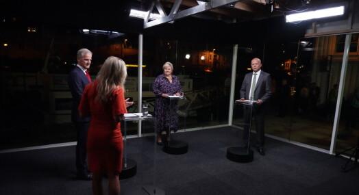 Nær 300.000 så statsminister-debatten på TV 2