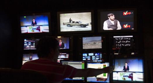 Kvinnelig nyhetsanker tilbake på afghansk TV