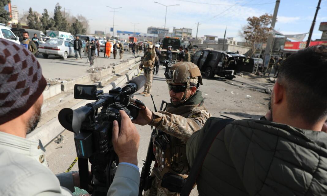 Amerikanske medier ber om beskyttelse av afghanske journalister
