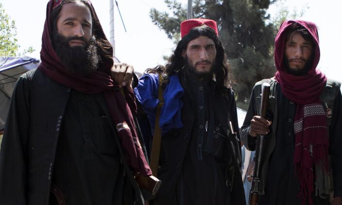 Afghanske sikkerhetsstyrker er borte, og Taliban patruljerer overalt i Afghanistan, beskriver Anders Hammer.