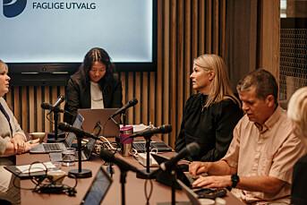 DN ønsket prinsipiell diskusjon om rettelser i PFU. Ble kritisert for slurv