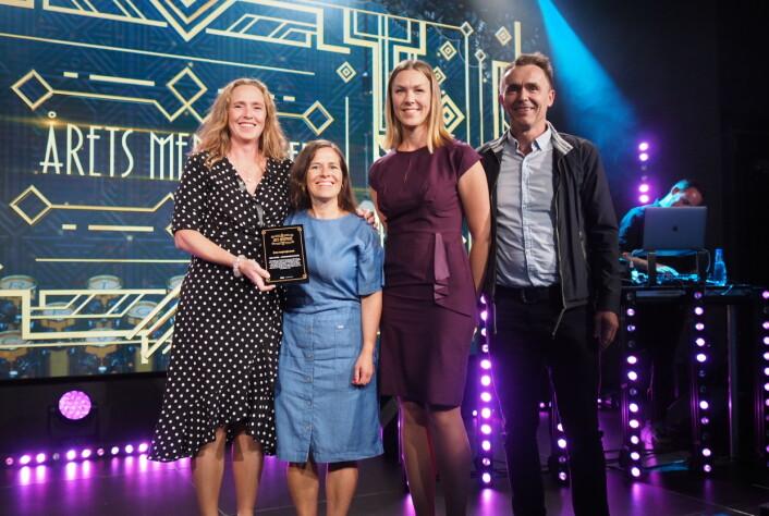 NRK Super fikk pris for sin koronadekning.