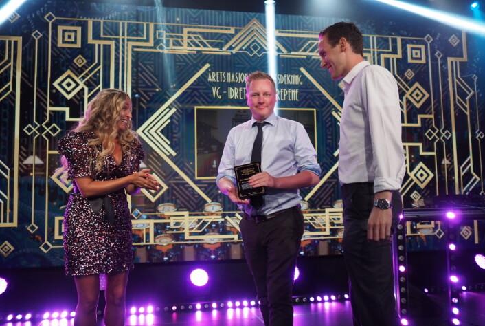 Sportsjournalistikk av beste kvalitet sier juryen om VGs «Idrettsovergrepene».