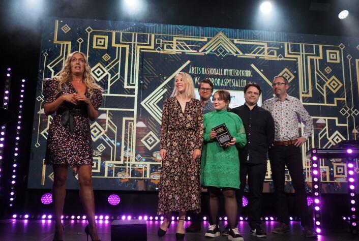 VGs coronaspesial fikk flere priser.
