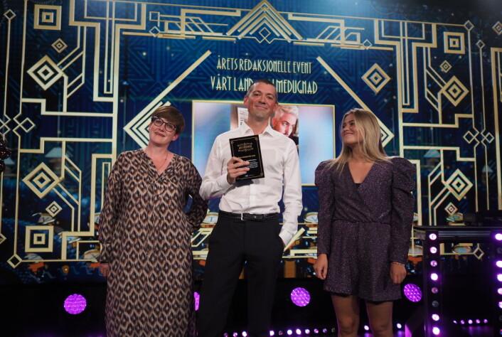 Vårt Land sikret seg prisen for Årets redaksjonelle event.