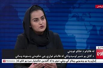 Hun intervjuet Taliban-topp. Nå har Beheshta Arghand flyktet fra landet