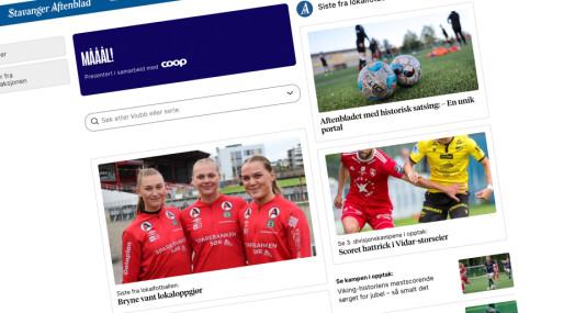 Aftenbladet lanserer egen portal for lokalfotballen