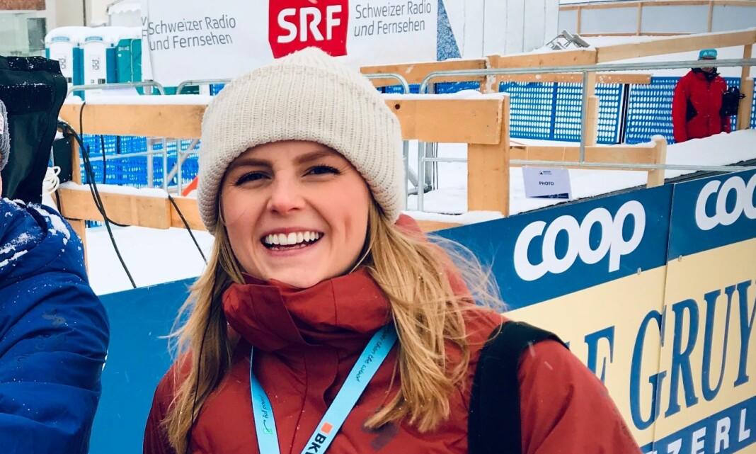 Ellen Kessel er fast ansatt som deskreporter i Nyhetskanalen