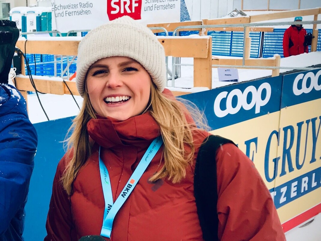 Ellen Kessel kom til TV 2 Sporten som praktikant fra Oslo Met høsten 201