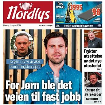 – Denne Nordlys-forsiden er talende for at vi snur på dekninga - og lar folk fortelle først, så får politikerne gi sine løsninger, sier Solstad