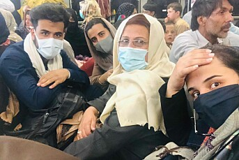 Journalistfamilien har flyktet fra Taliban: – Aner ikke hvor i verden vi havner