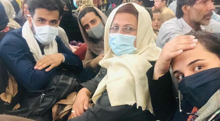 Journalistfamilien har flyktet fra Taliban:– Aner ikke hvor i verden vi havner