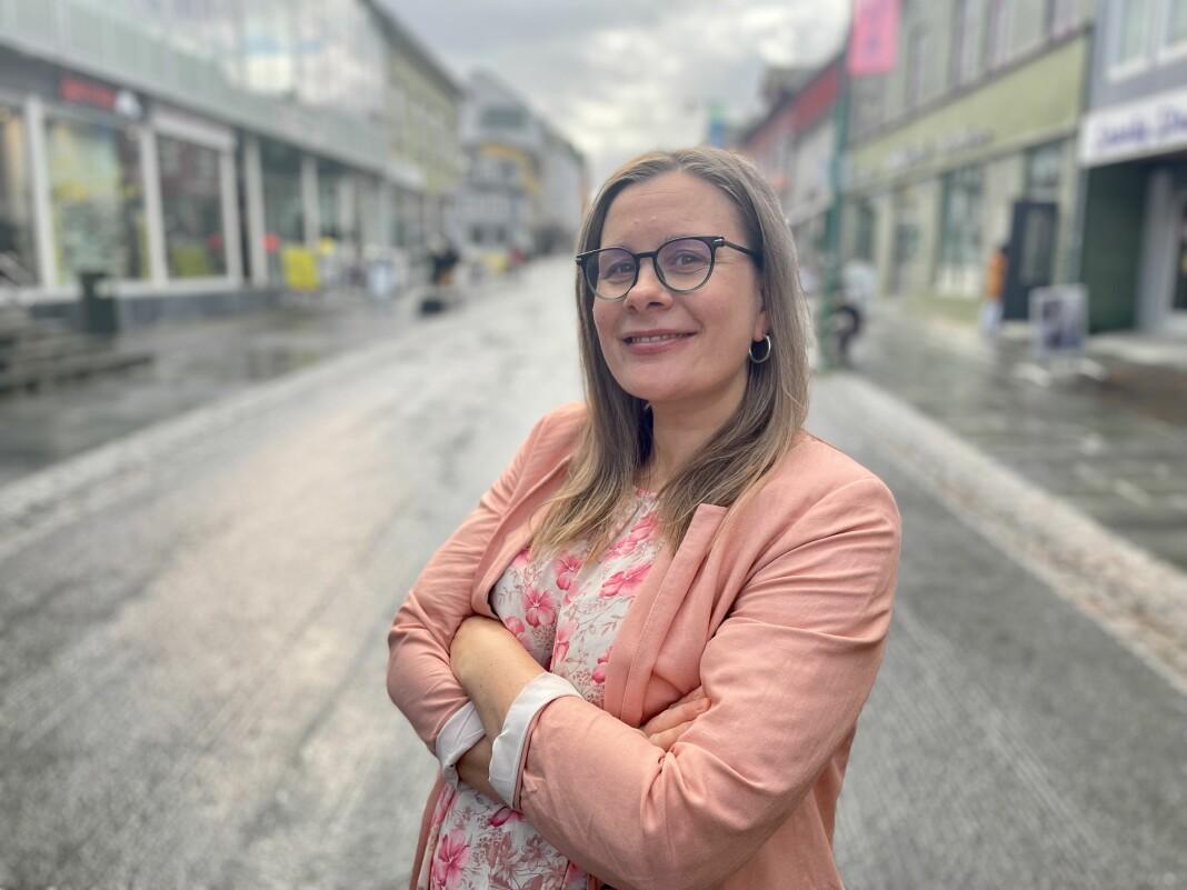 Silje Charlotte Solstad leder valgkampdekningen til Nordlys under årets stortingsvalg.