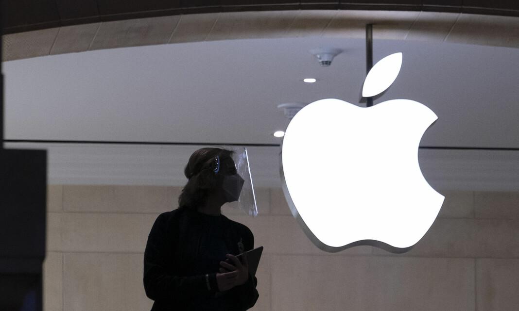 Apples setter skanning av Iphone på hold