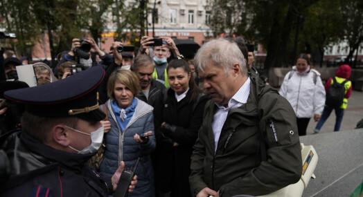 Russisk opposisjon lover kamp mot omstridt lov