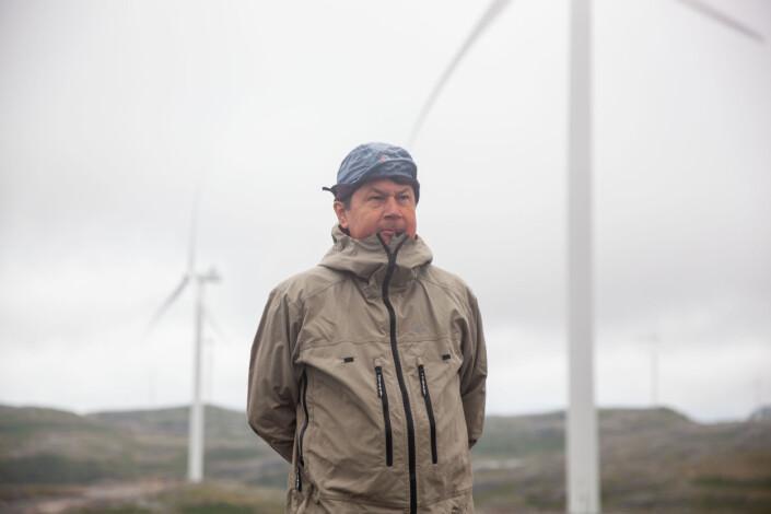 Reineieren Leif Arne Jåma frykter at den sørsamiske kulturen står på spill når store beiteområder gjøres om til vindmølleparker.