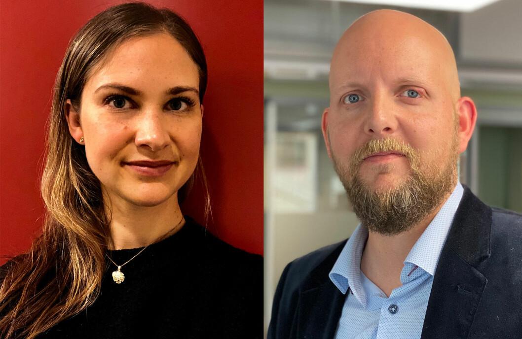 Lone Omholt Lossius og Øystein Eian er begge ansatt som journalister i Tidsskriftet Fysioterapeuten.