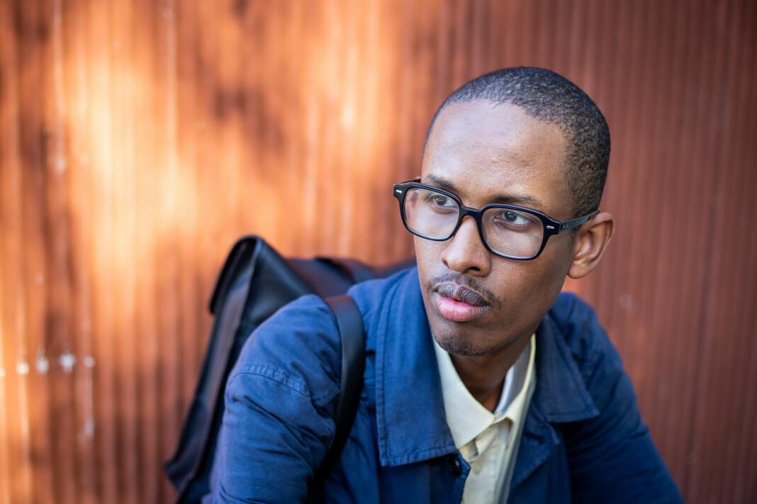 – I enkeltes øyner blir du aldri norsk nok. De ser ikke på deg som en likeverdig samfunnsborger, sier Abdirahman Hassan, debattjournalist i Aftenposten.