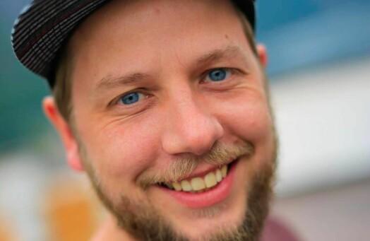 Andreas Grimsæth er ansatt som læringsspesialist i Schibsted
