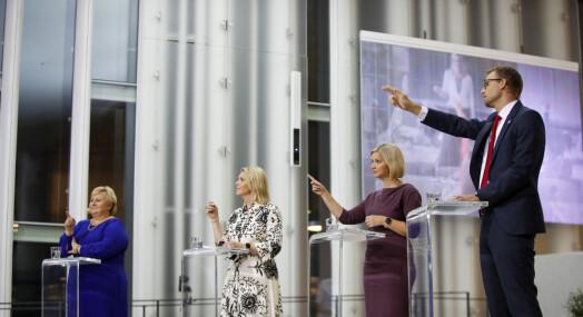 UFO TIL PFU dager før valget: «Vi leter etter spor av kunstig intelligens hos Frp, Dagbla' og VG»