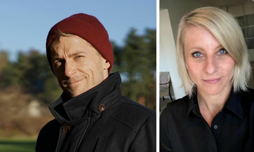 Per Magnus Riseng og Annemarte Moland er fast ansatt i Aftenposten