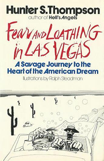Førsteutgaven av boka. Som artikkelen er den illustrert av Ralph Steadman.