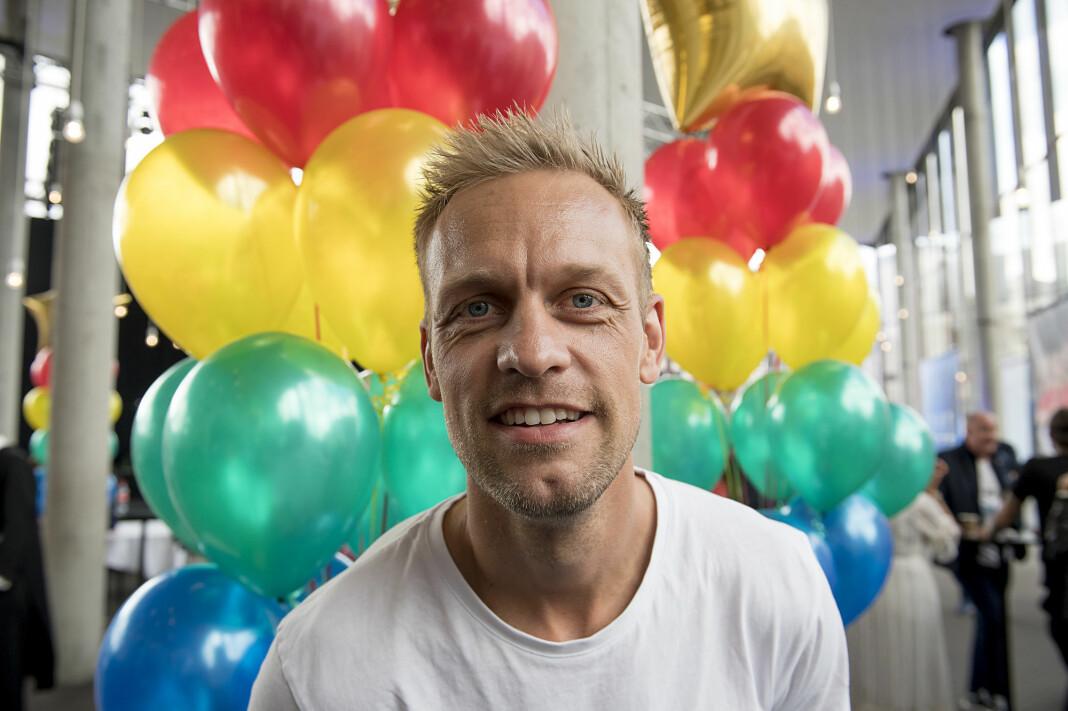 Mads Hansen er en av profilene i VGTVs Spårtsklubben.
