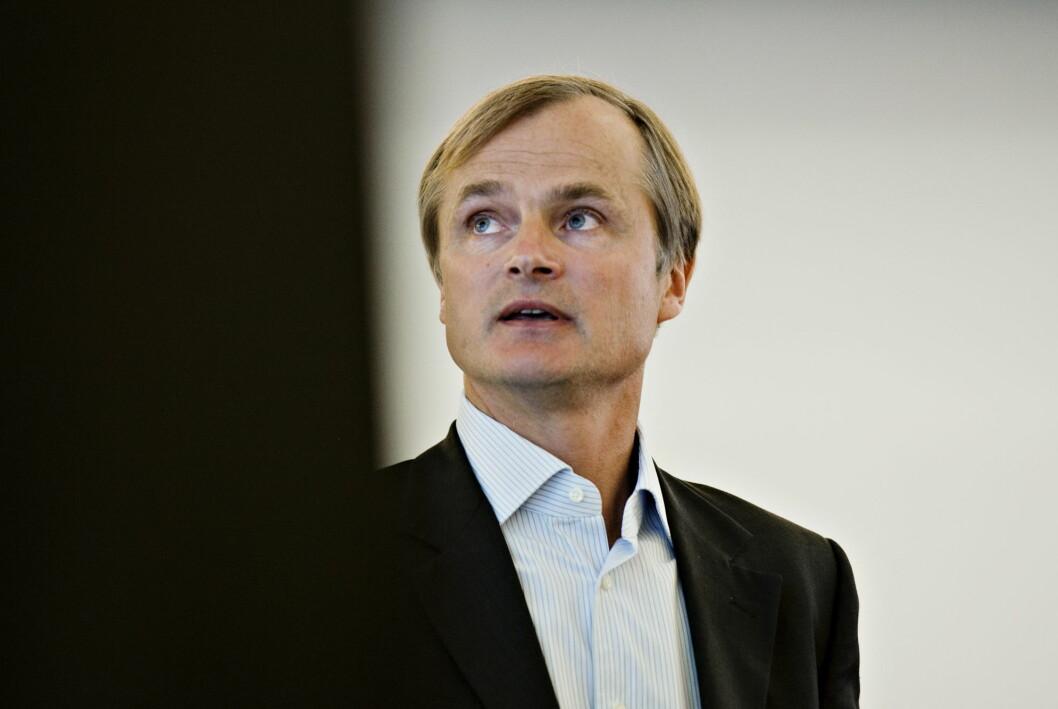 Finansmann Øystein Stray Spetalen fleipet i en Whatsapp-gruppe om at Taliban kunne ta livet av TV 2s Fredrik Græsvig. Bildet er fra 2012.