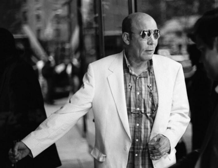 Hunter S. Thompson fotografert i 1997.