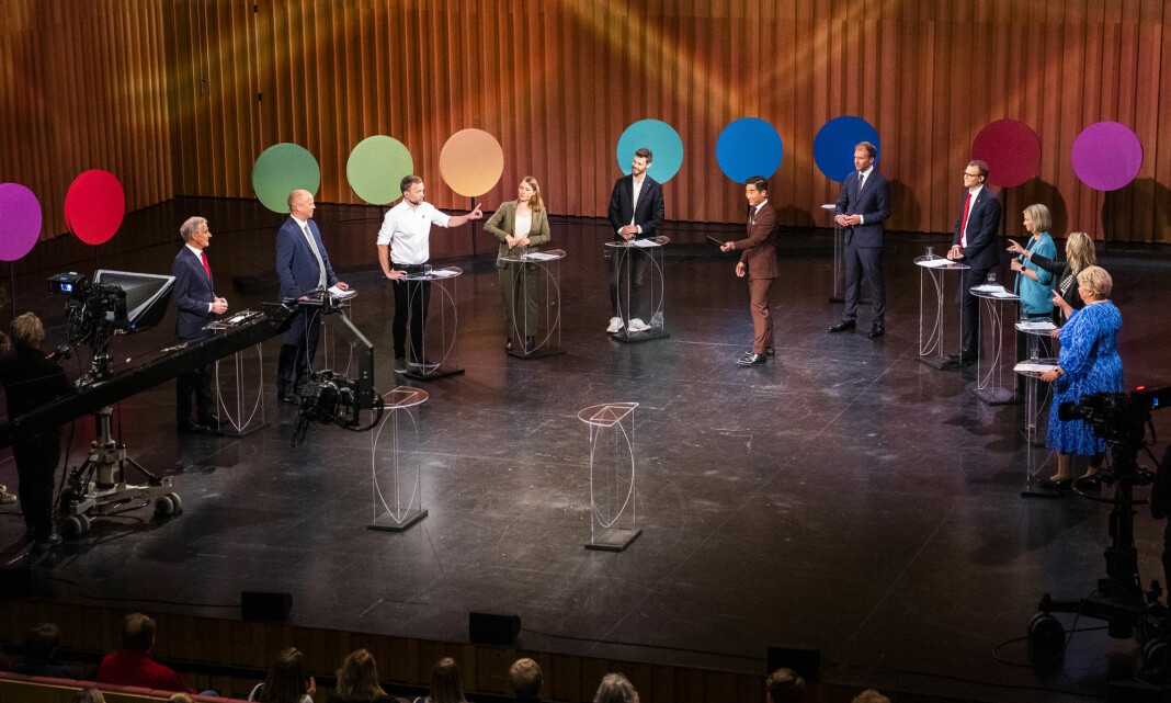 Over 600.000 fulgte den siste partilederdebatten