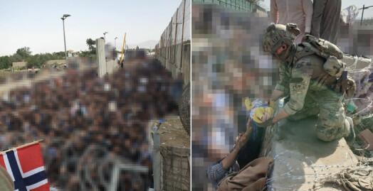 Fotojournalist reagerer: NRK sladdet 18 av 20 bilder fra Kabul-evakuering